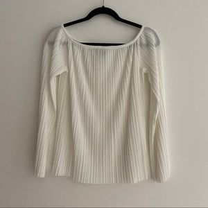 Theory Pleated Top